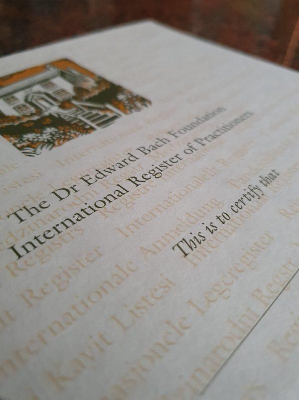 BFRP Certificate